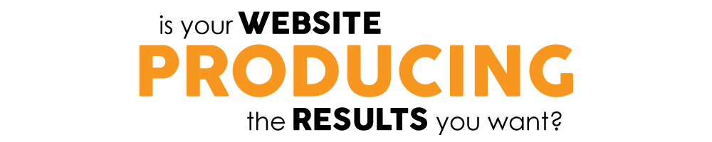 website producing results