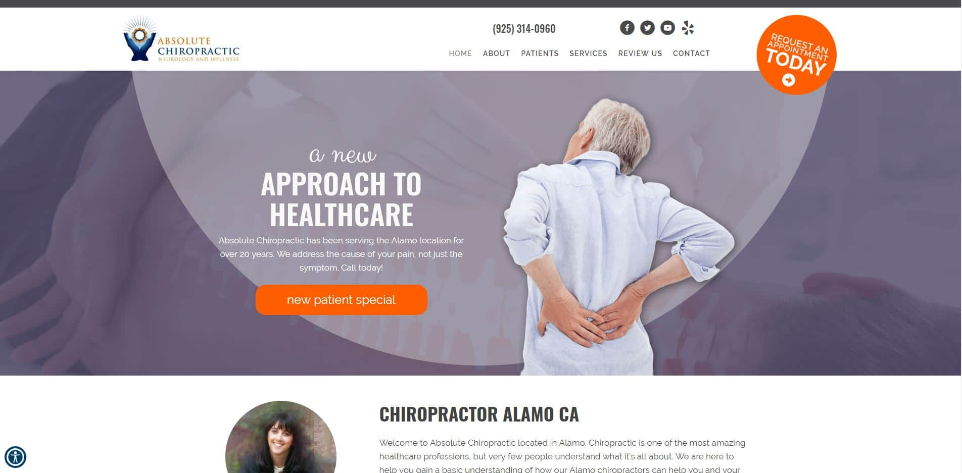 Chiropractor in Alamo