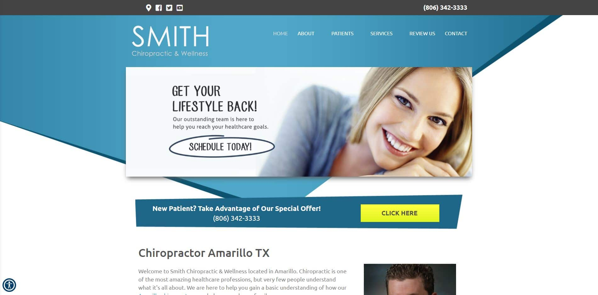 Chiropractor in Amarillo