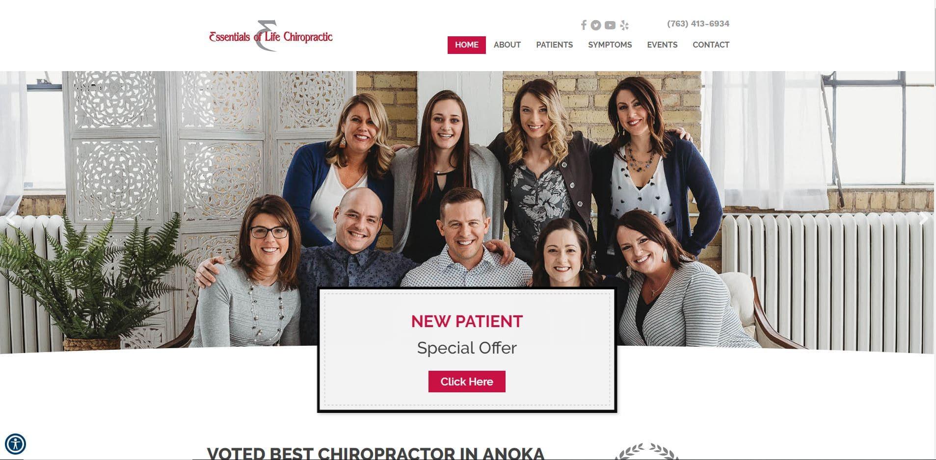 Chiropractor in Andover