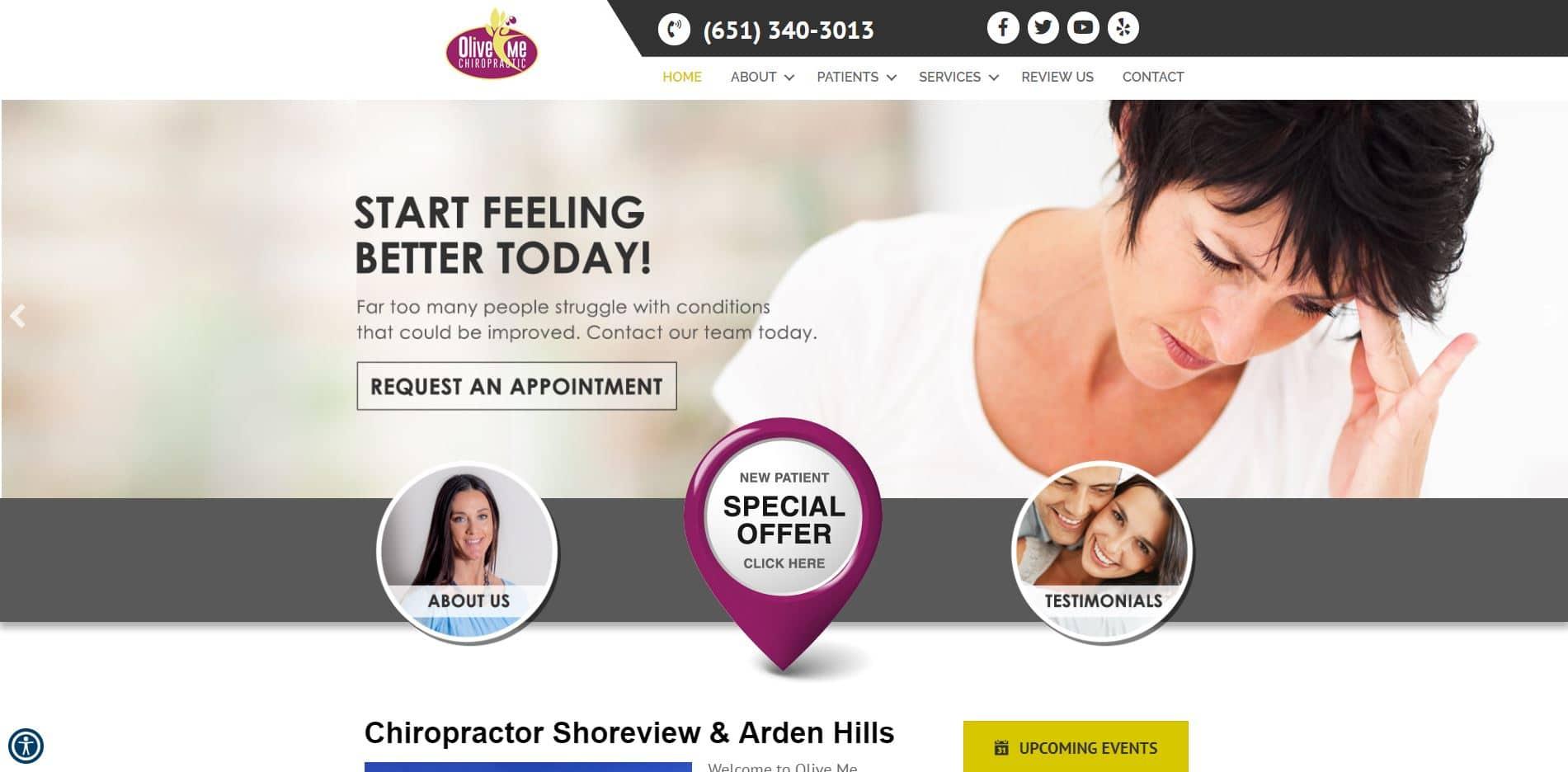 Chiropractor in Arden Hills
