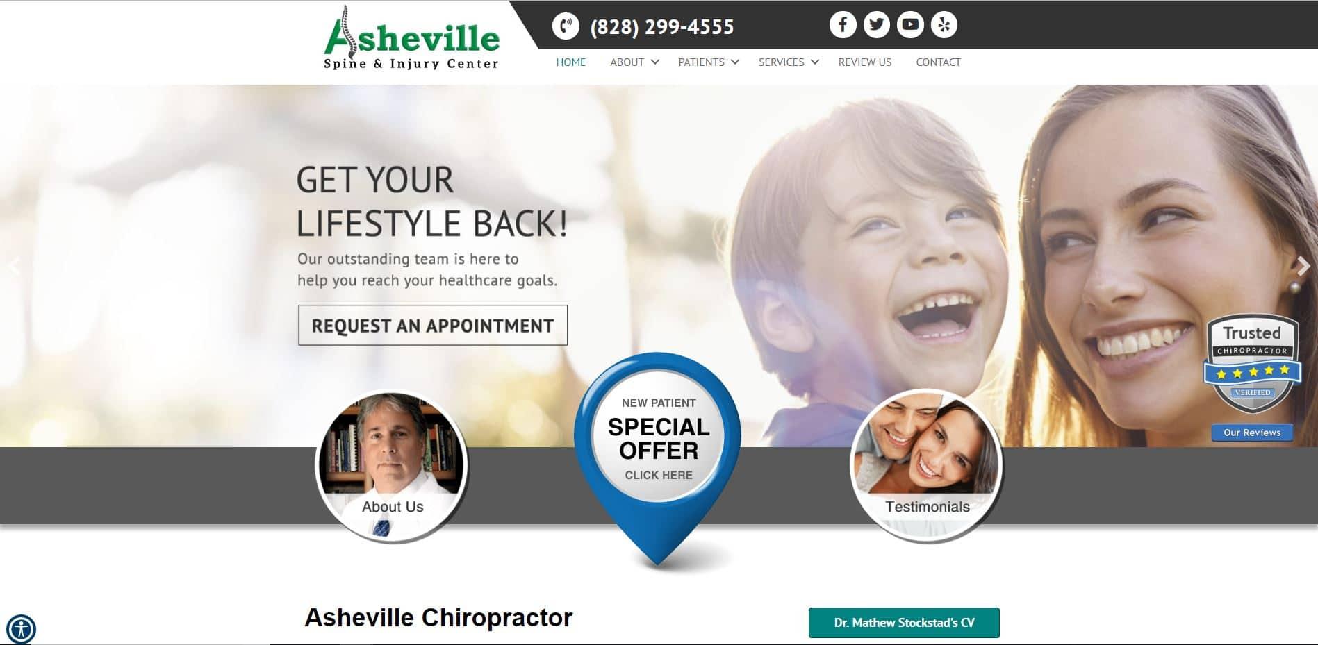 Chiropractor in Asheville