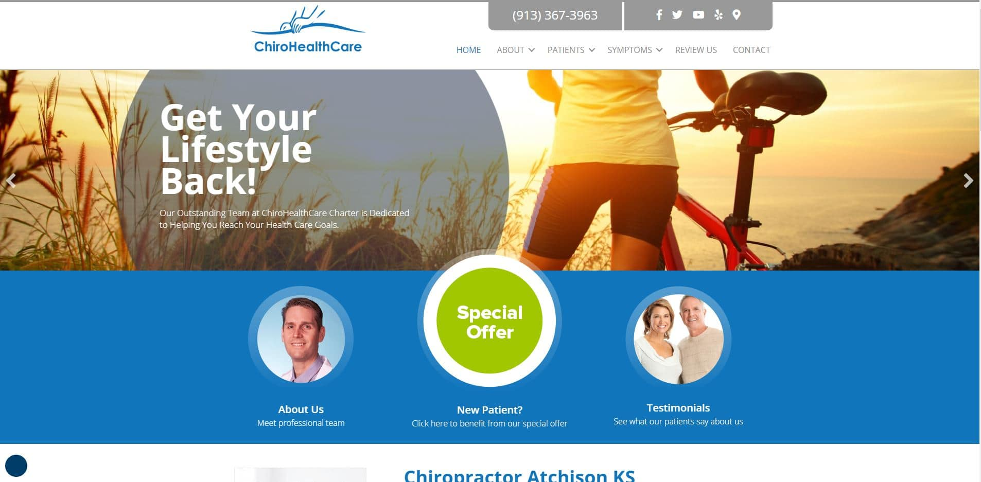Chiropractor in Atchison
