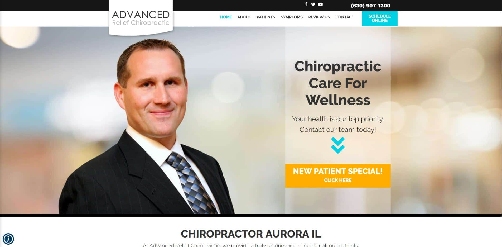 Chiropractor in Aurora