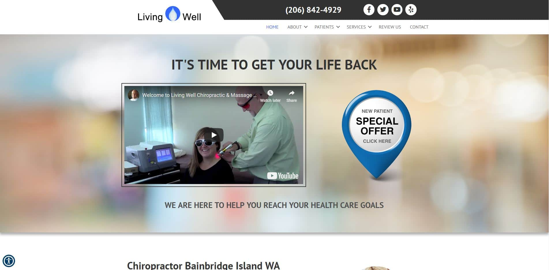 Chiropractor in Bainbridge