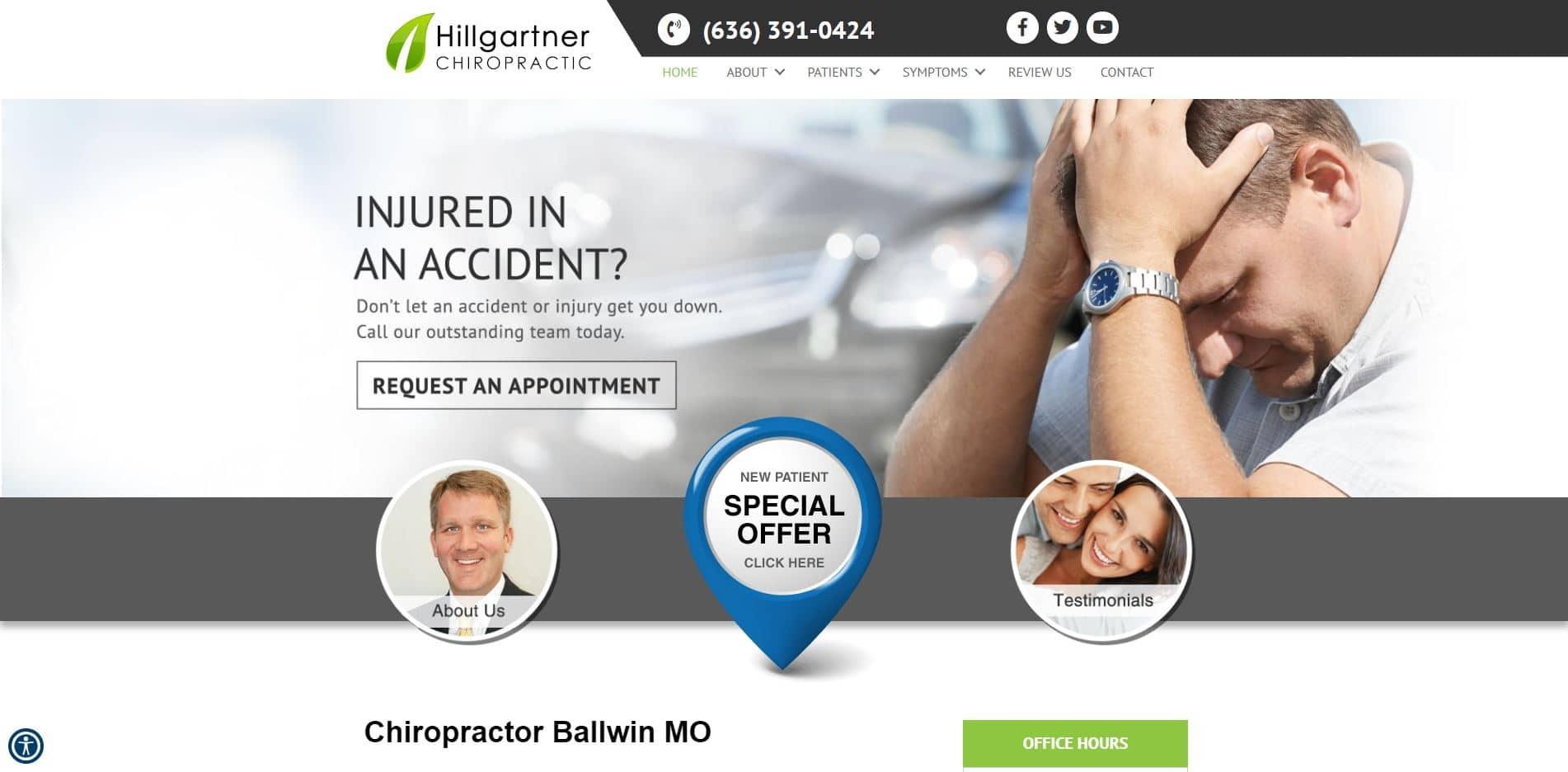 Chiropractor in Ballwin