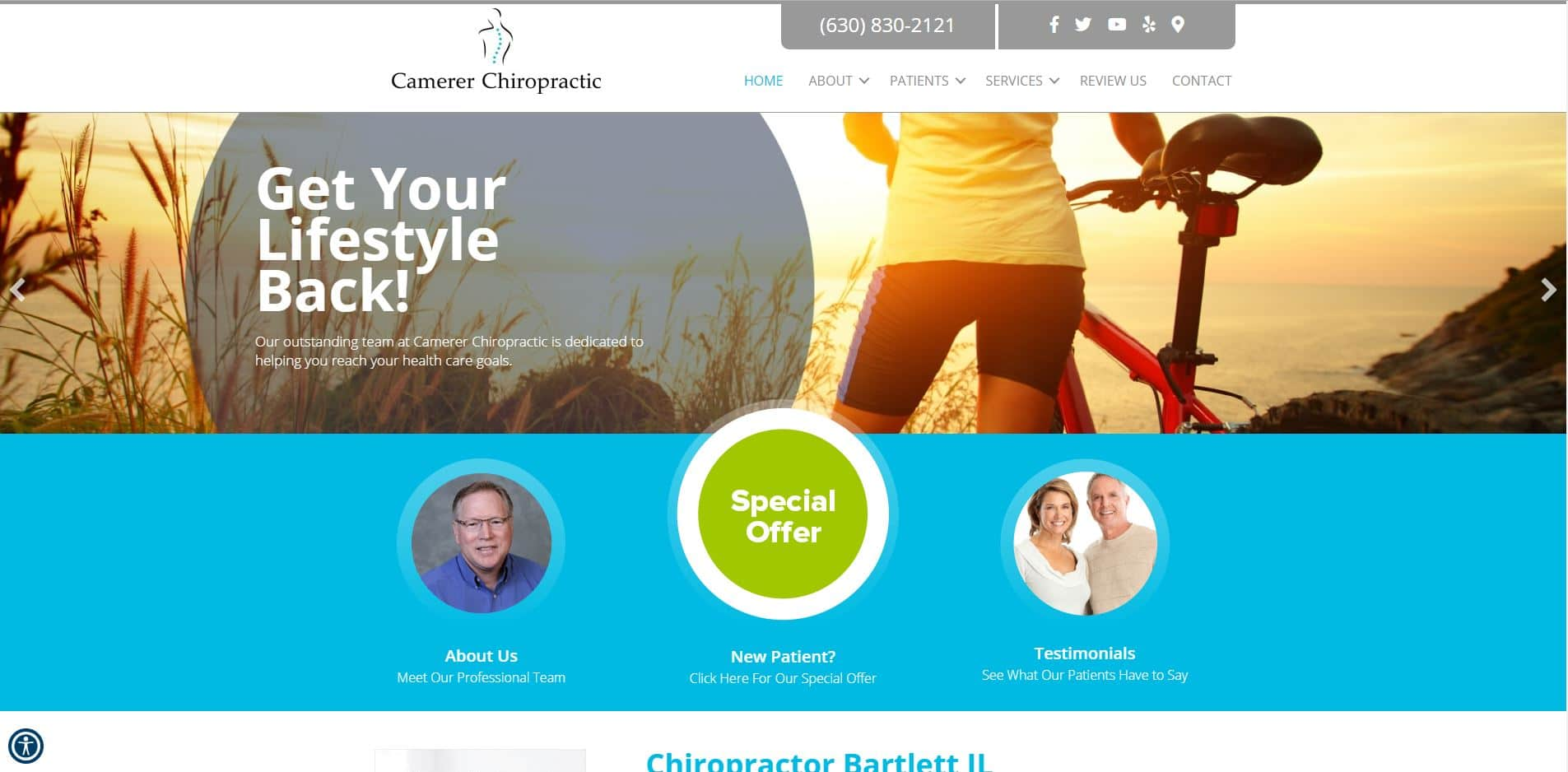 Chiropractor in Bartlett