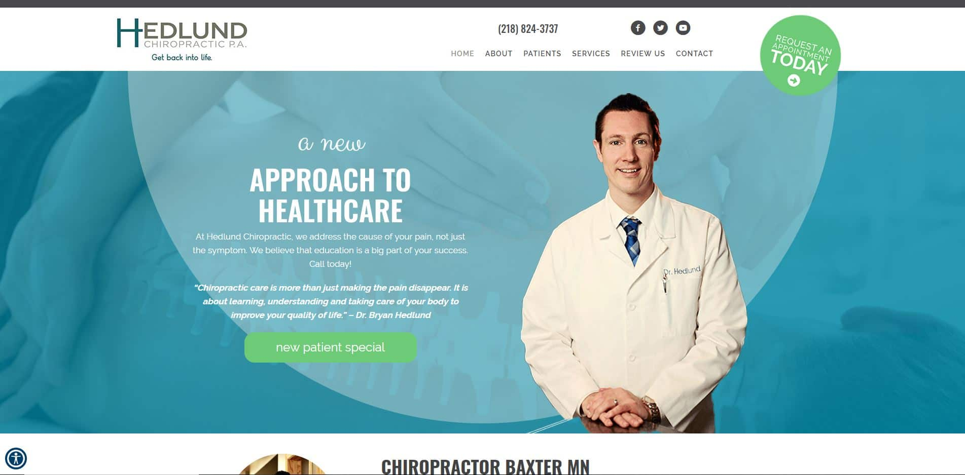 Chiropractor in Baxter