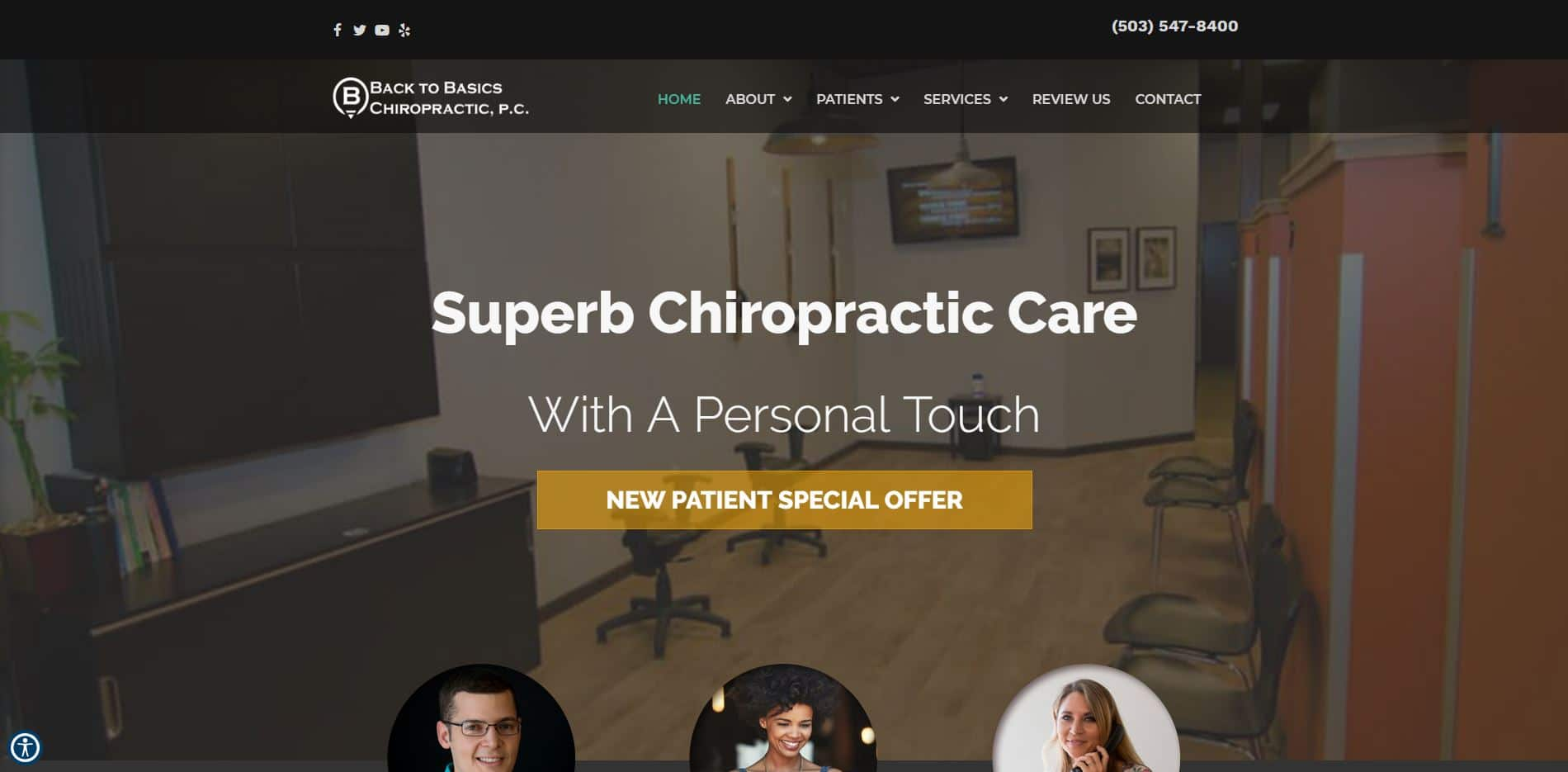 Chiropractor in Beaverton