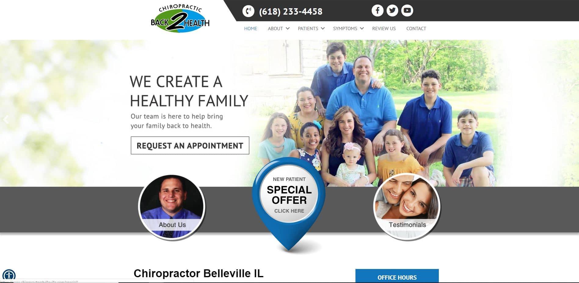 Chiropractor in Belleville