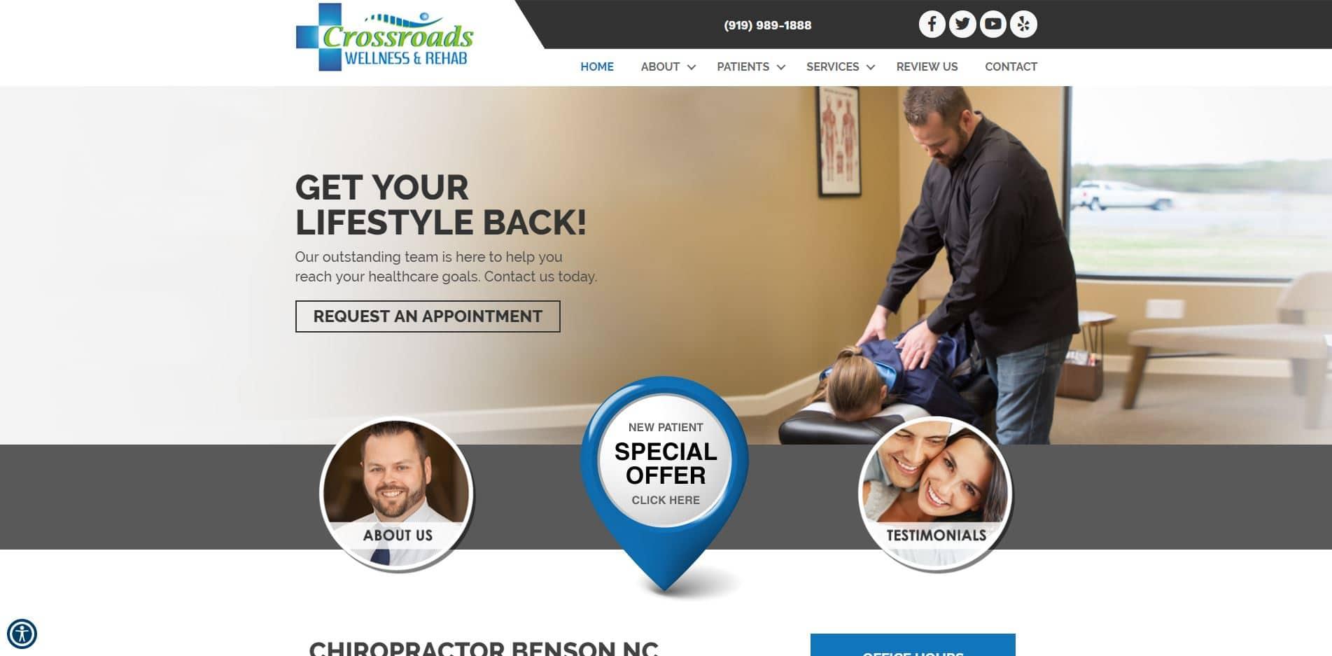 Chiropractor in Benson