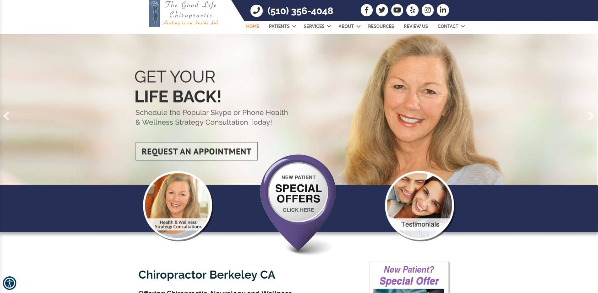 Chiropractor in Berkeley