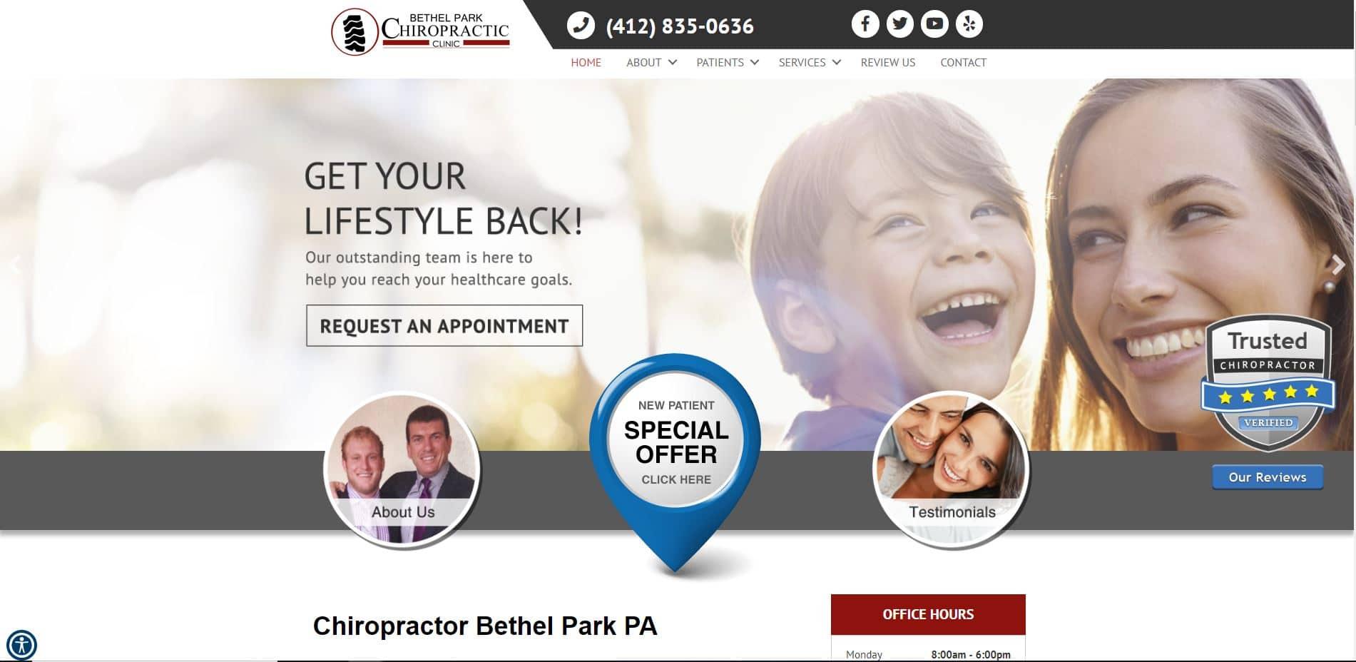 Chiropractor in Bethel Park