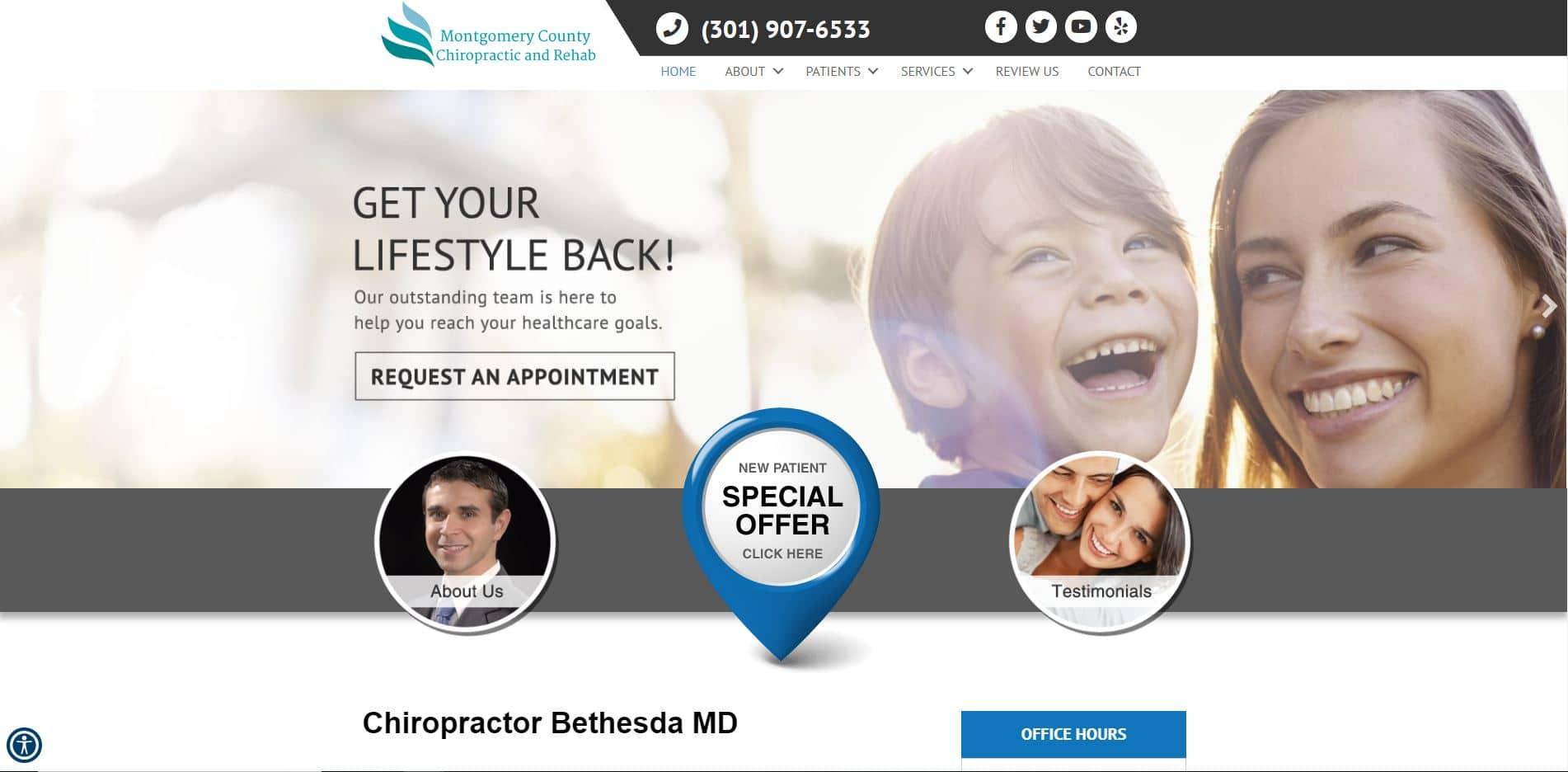 Chiropractor in Bethesda