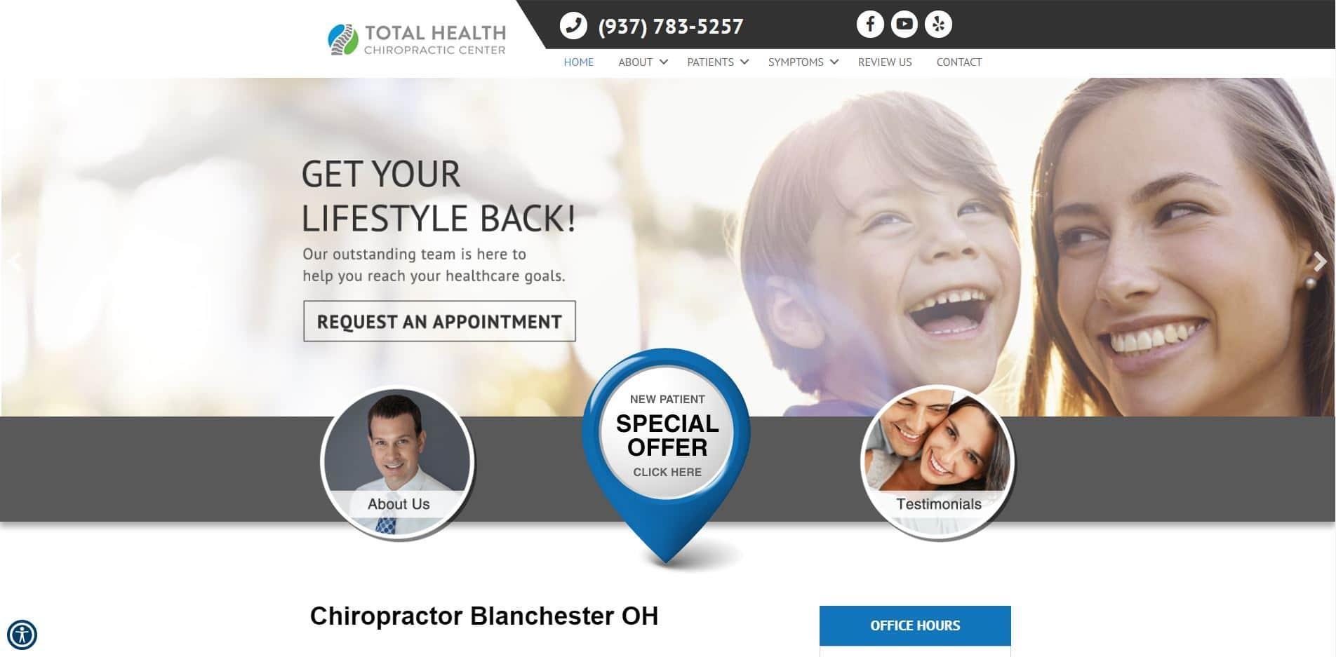 Chiropractor in Blanchester