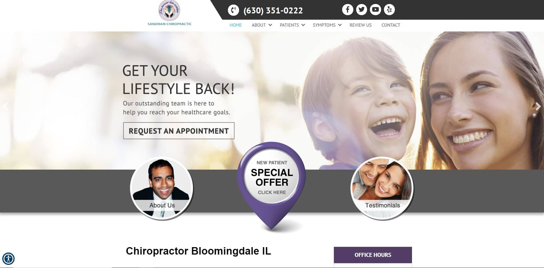 Chiropractor in Bloomingdale