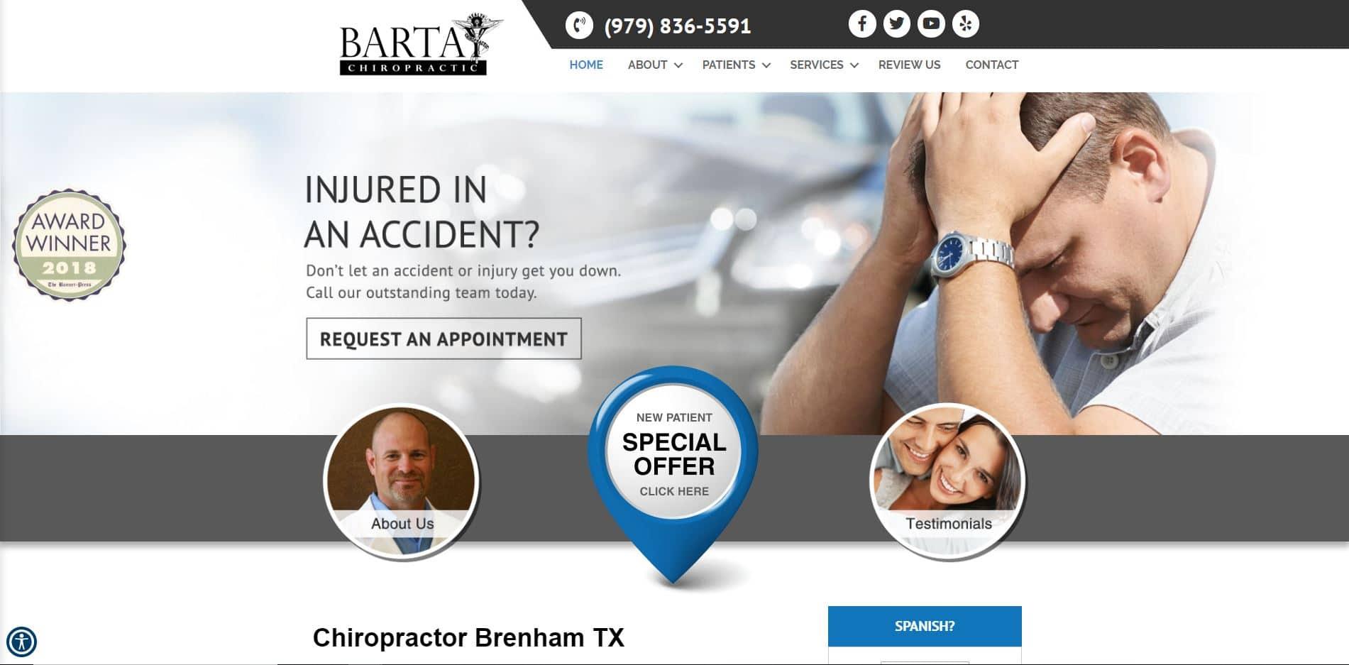 Chiropractor in Brenham