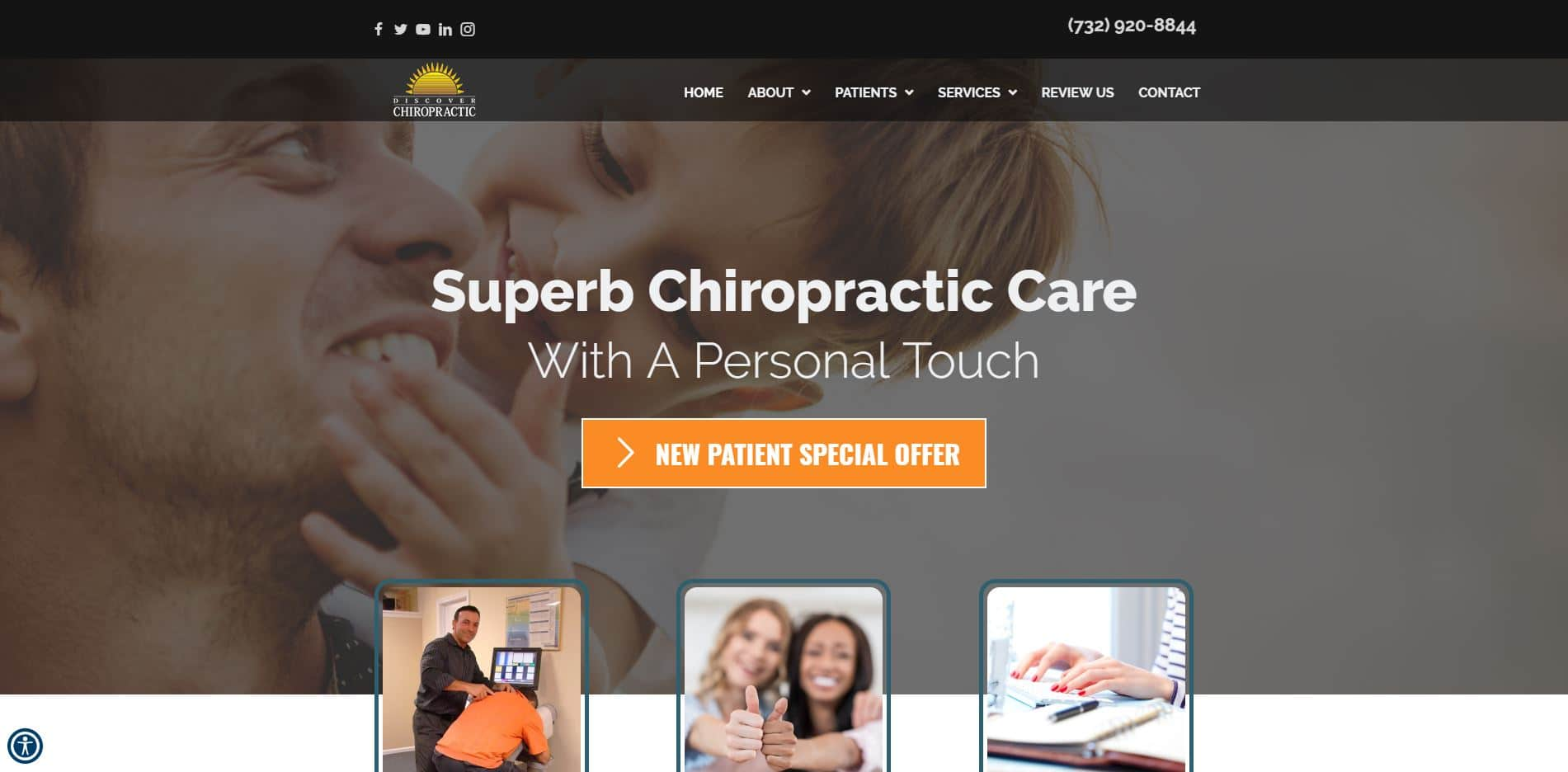 Chiropractor in Brick Township