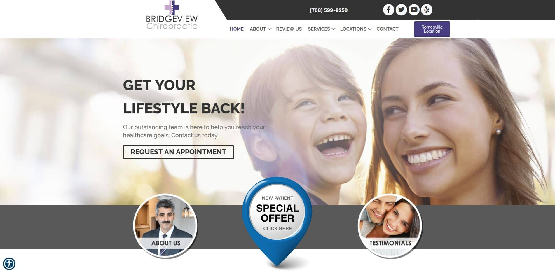 Chiropractor in Bridgeview