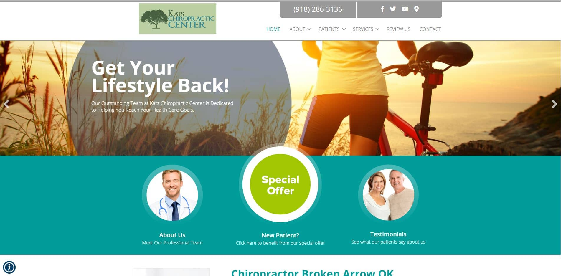 Chiropractor in Broken Arrow