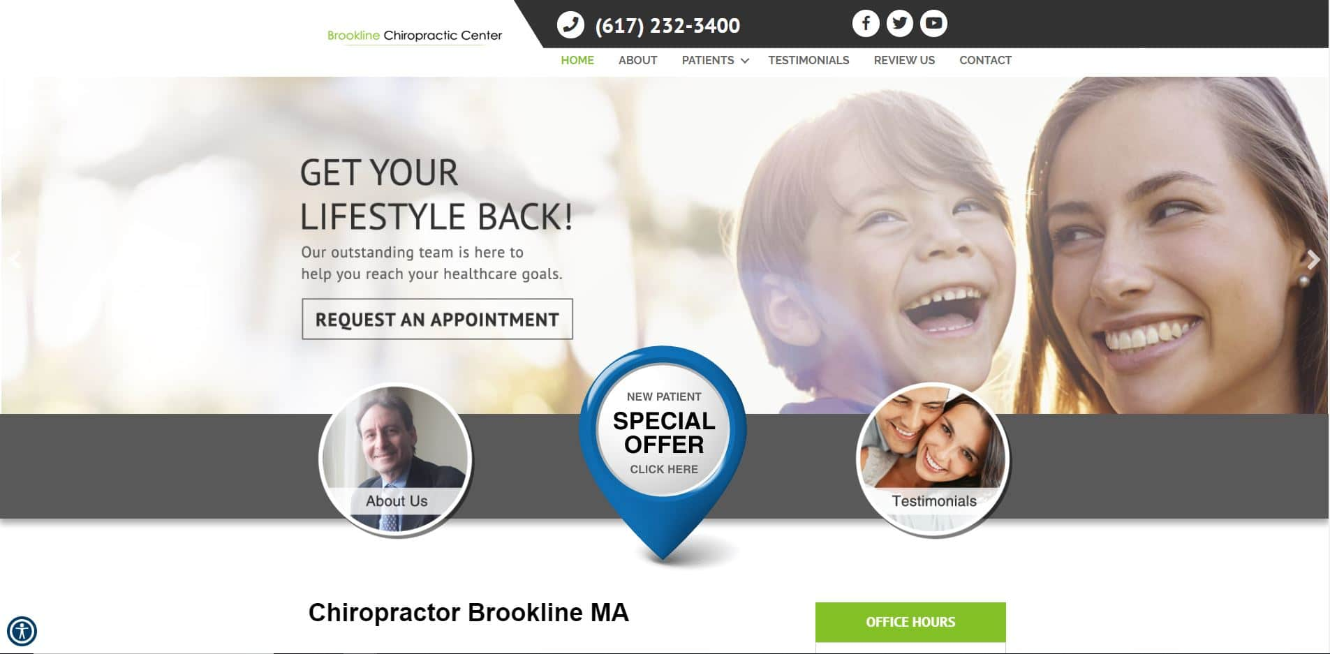 Chiropractor in Brookline
