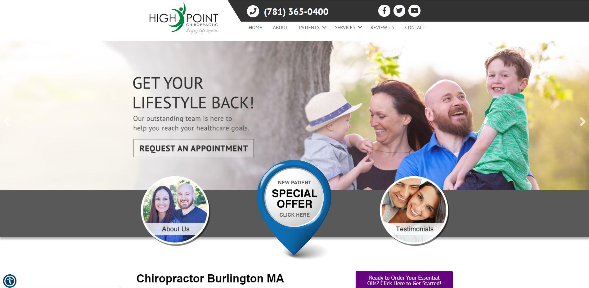Chiropractor in Burlington