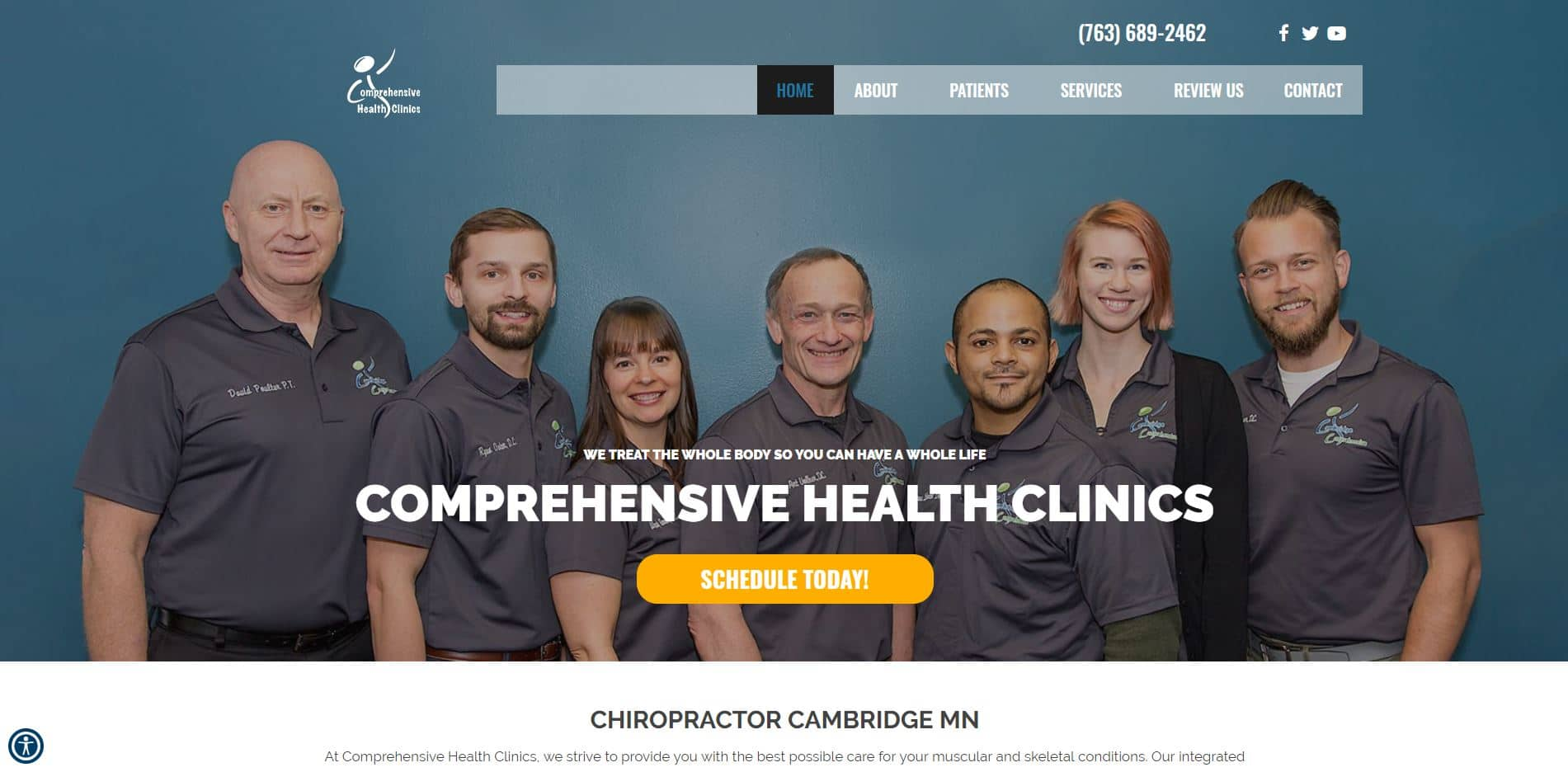 Chiropractor in Cambridge