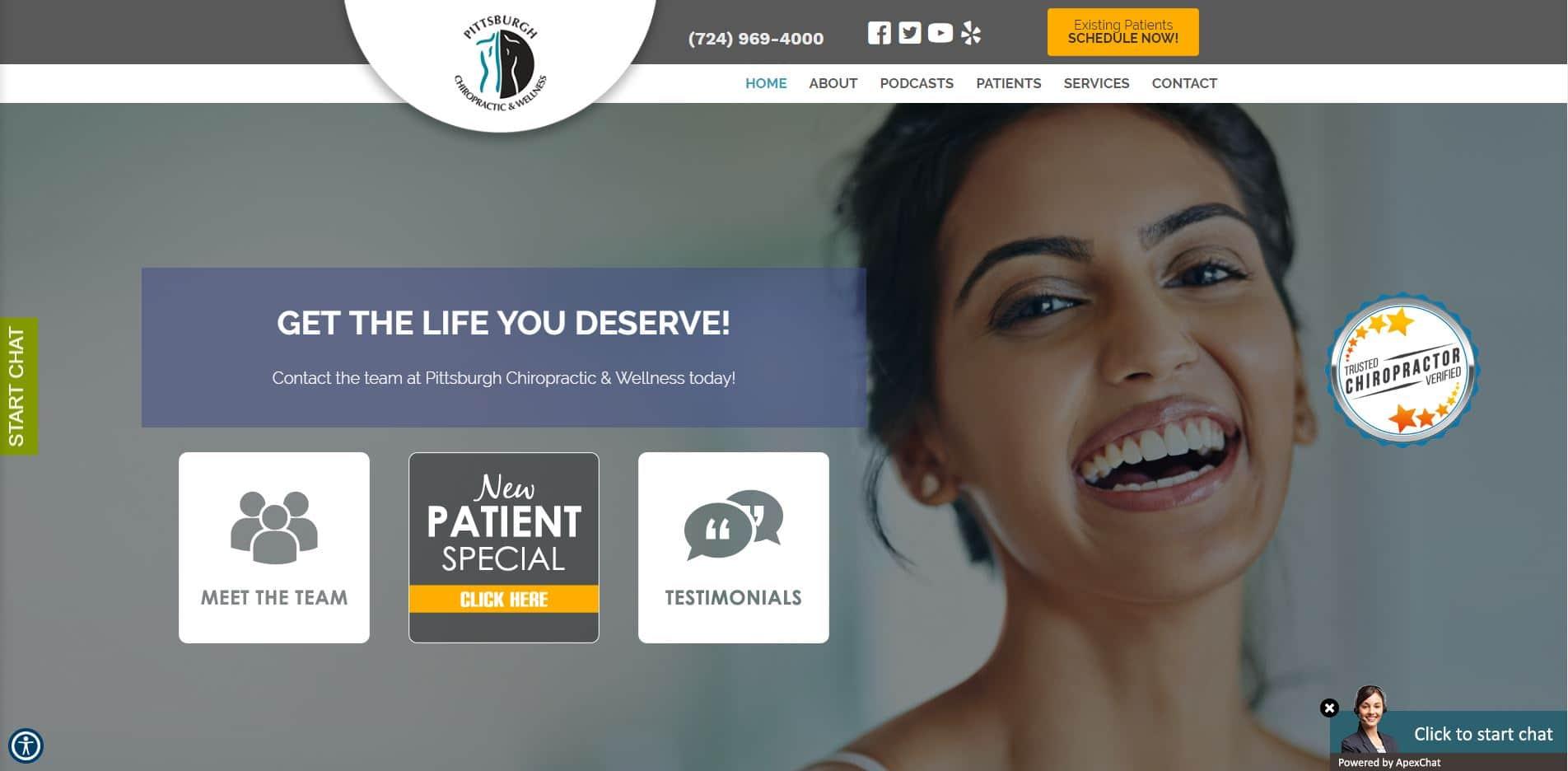 Chiropractor in Canonsburg