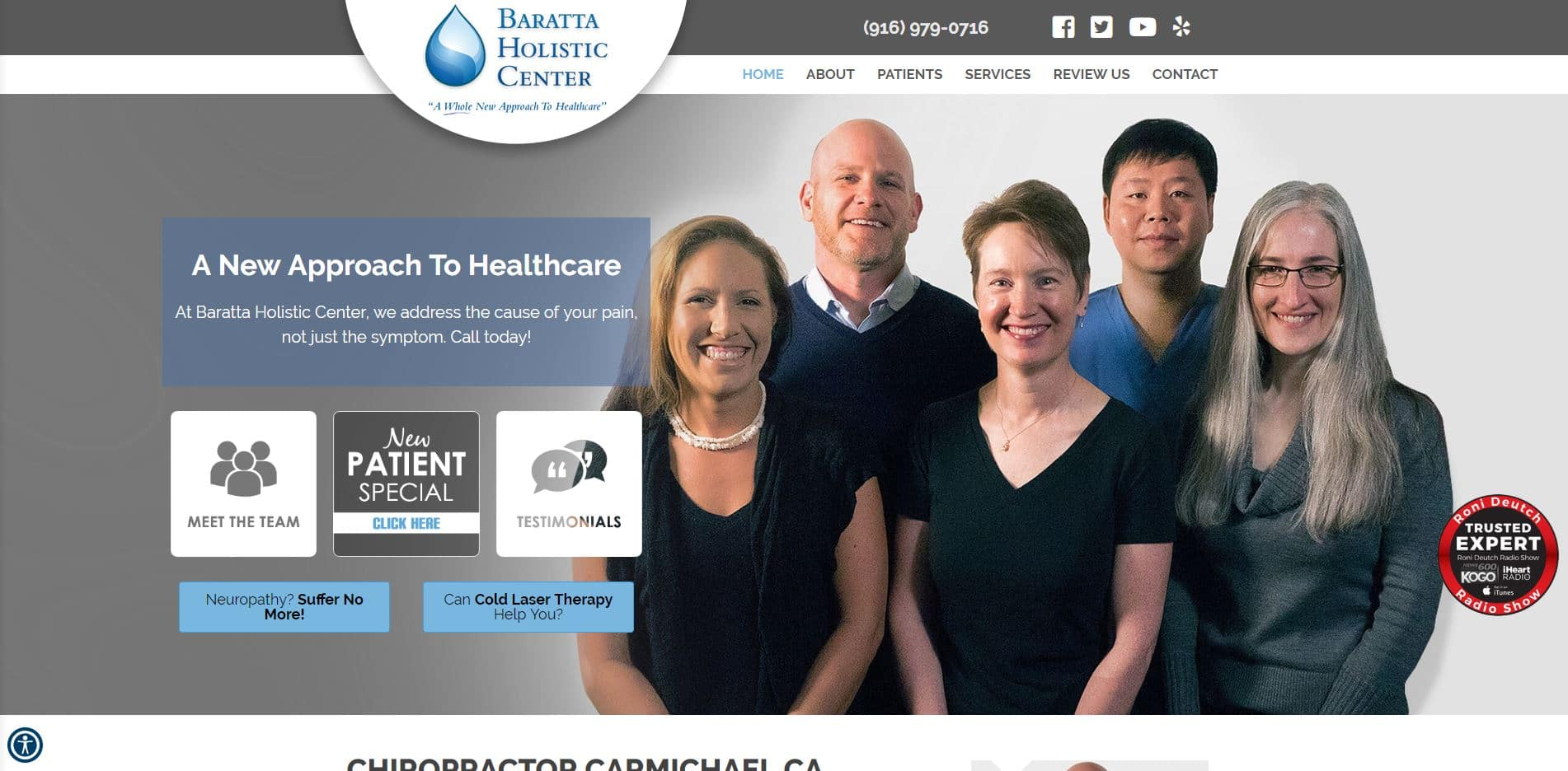 Chiropractor in Carmichael