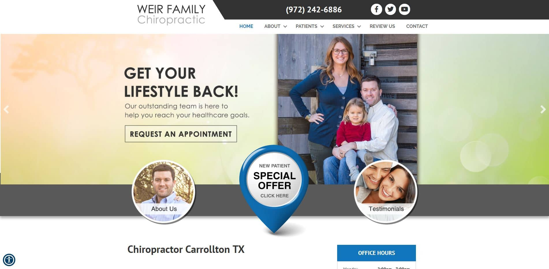 Chiropractor in Carrollton