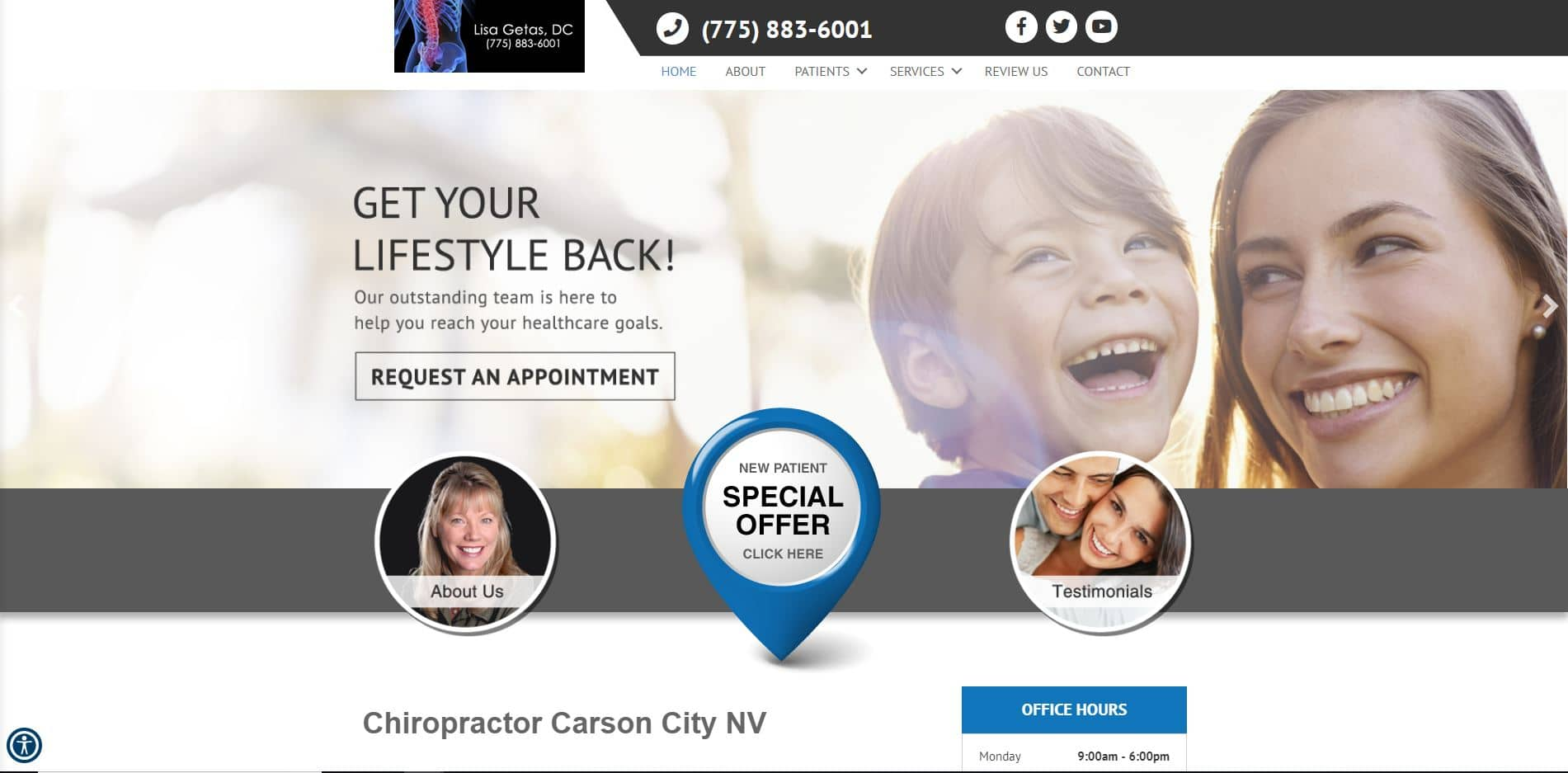 Chiropractor in Carson City