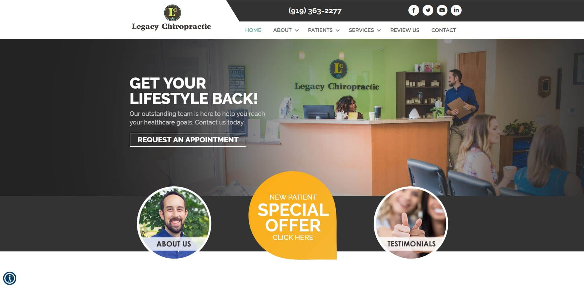 Chiropractor in Cary
