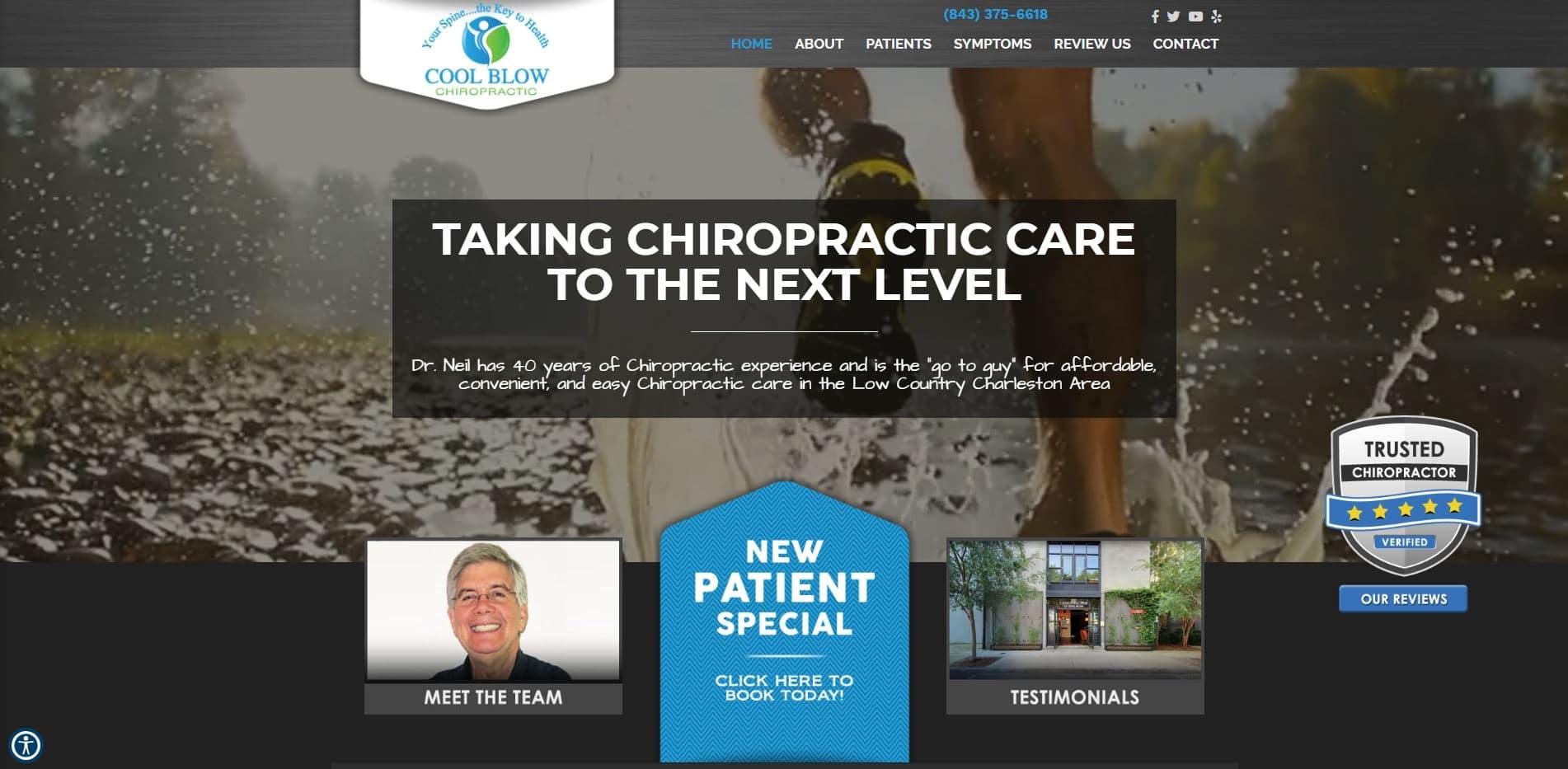 Chiropractor in Charleston