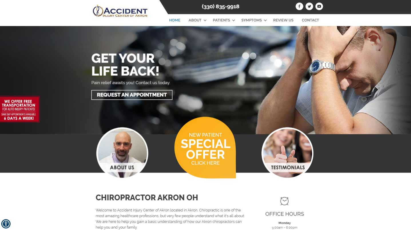 Chiropractor Akron OH Accident Injury Center of Akron