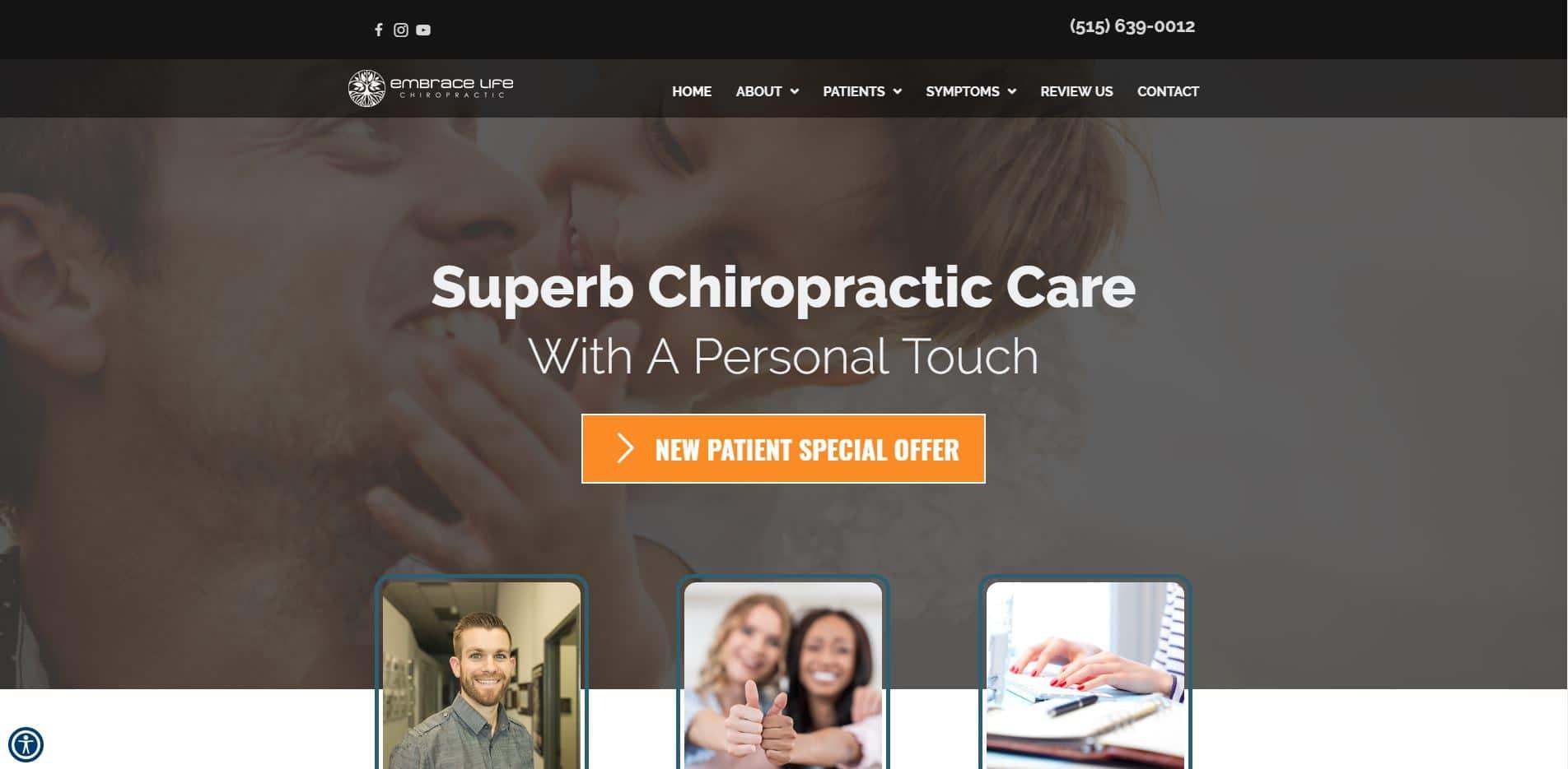 Chiropractor Ankeny IA Embrace Life Chiropractic