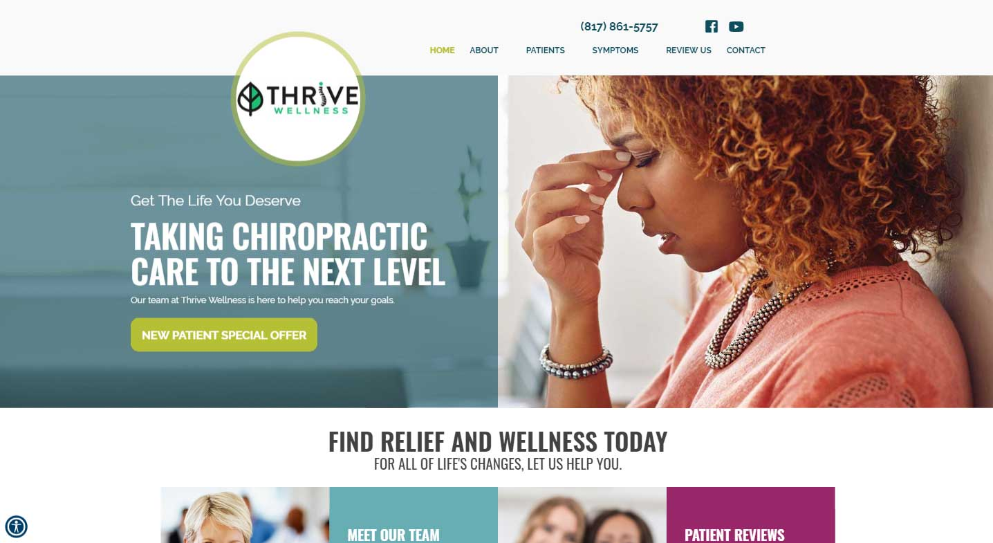 Chiropractor Arlington TX Thrive Wellness