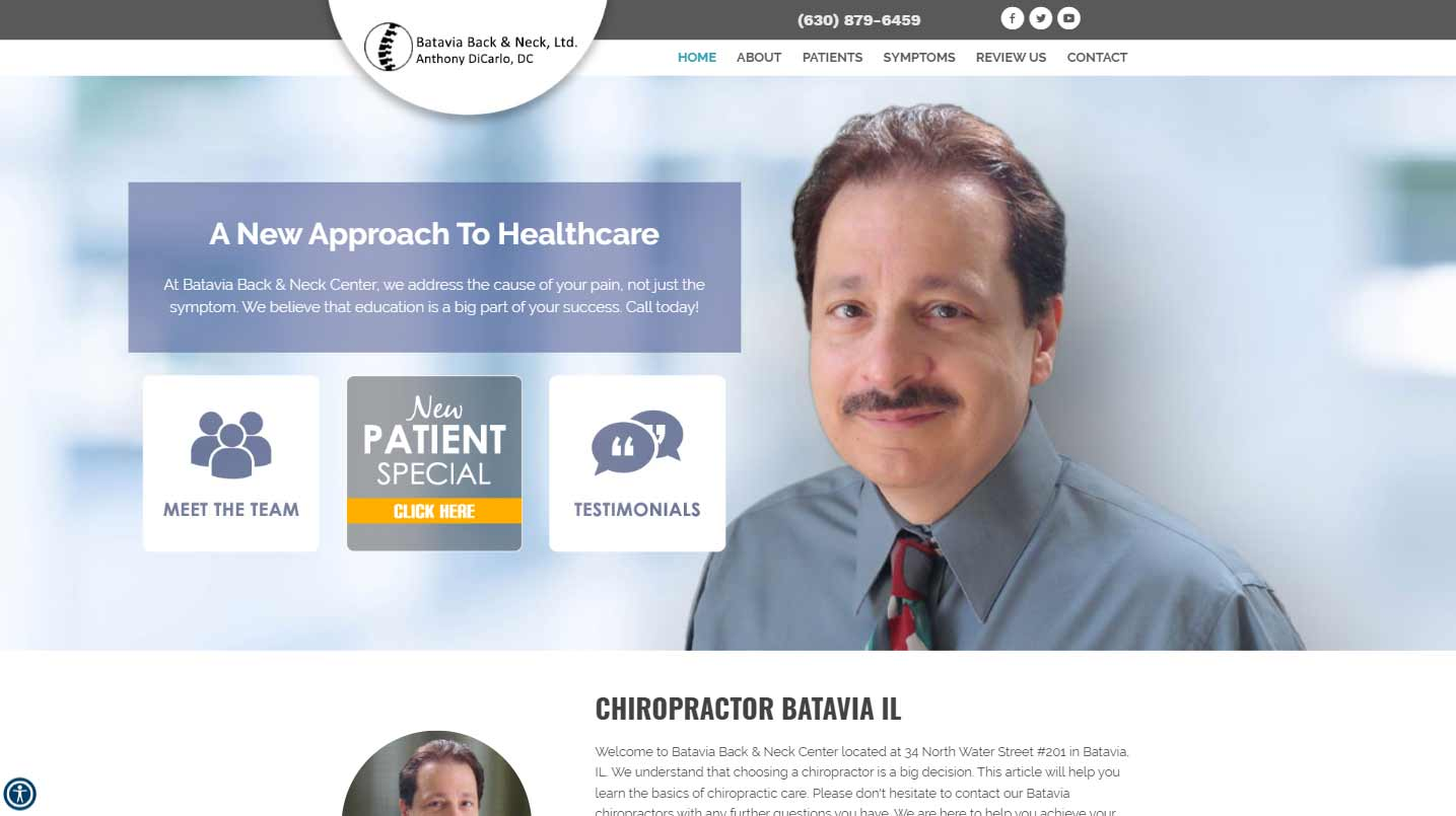Chiropractor Batavia IL Batavia Back & Neck Center