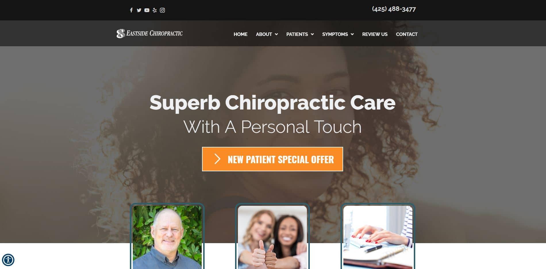 Chiropractor Bothell WA Eastside Chiropractic