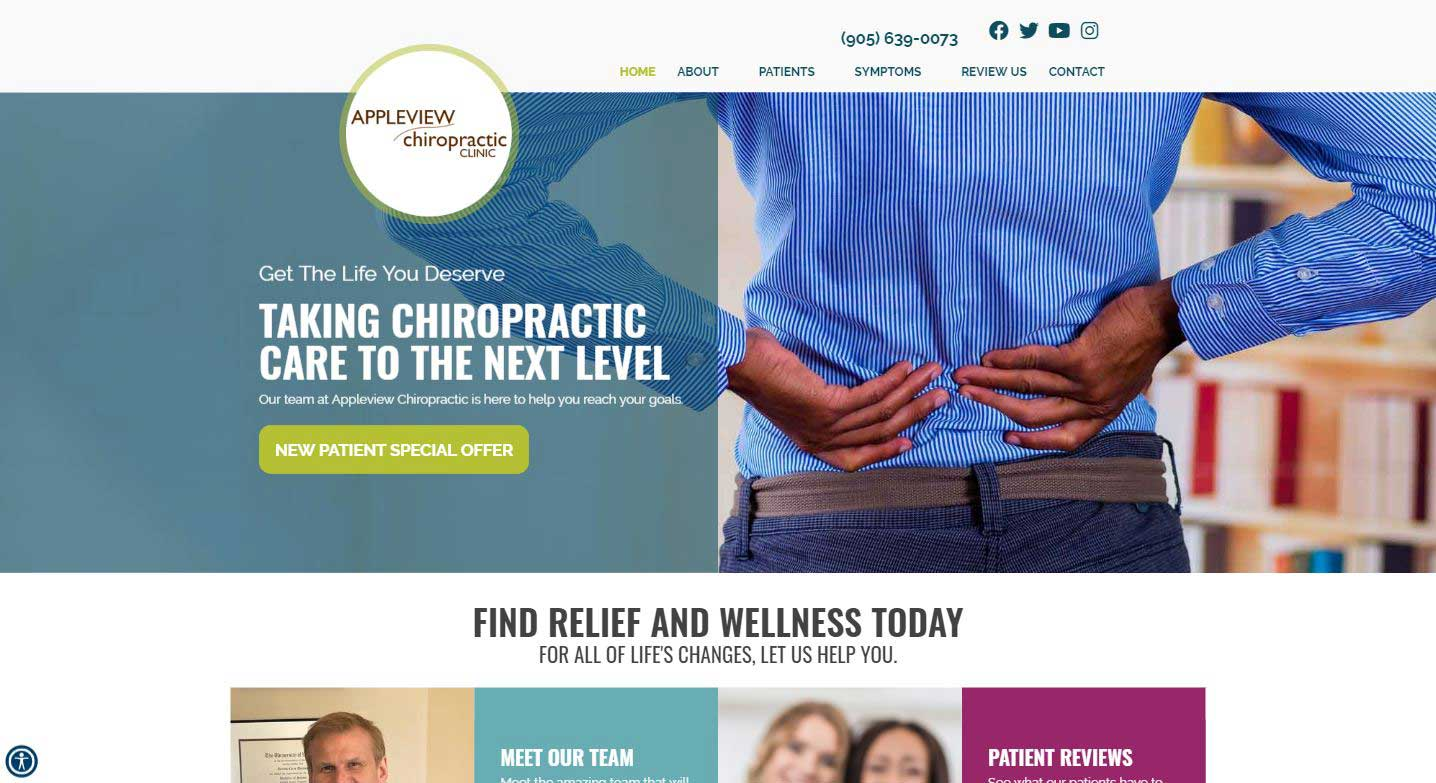 Chiropractor Burlington ON Appleview Chiropractic