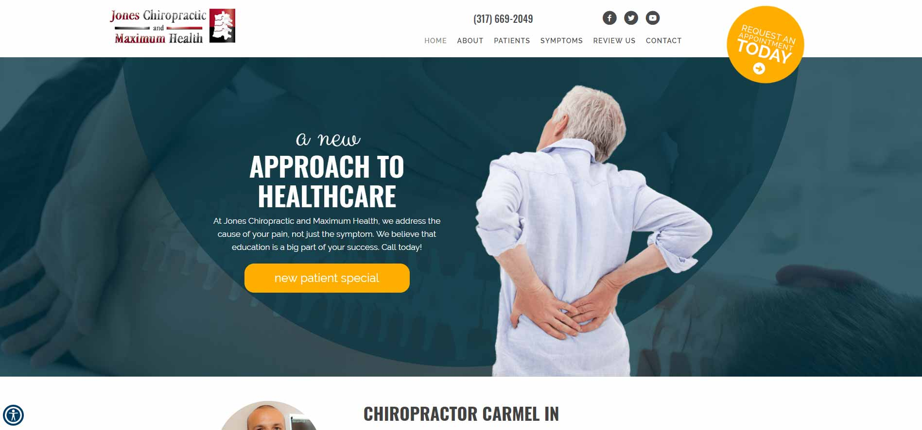Chiropractor Carmel IN Jones Chiropractic and Maximum Health
