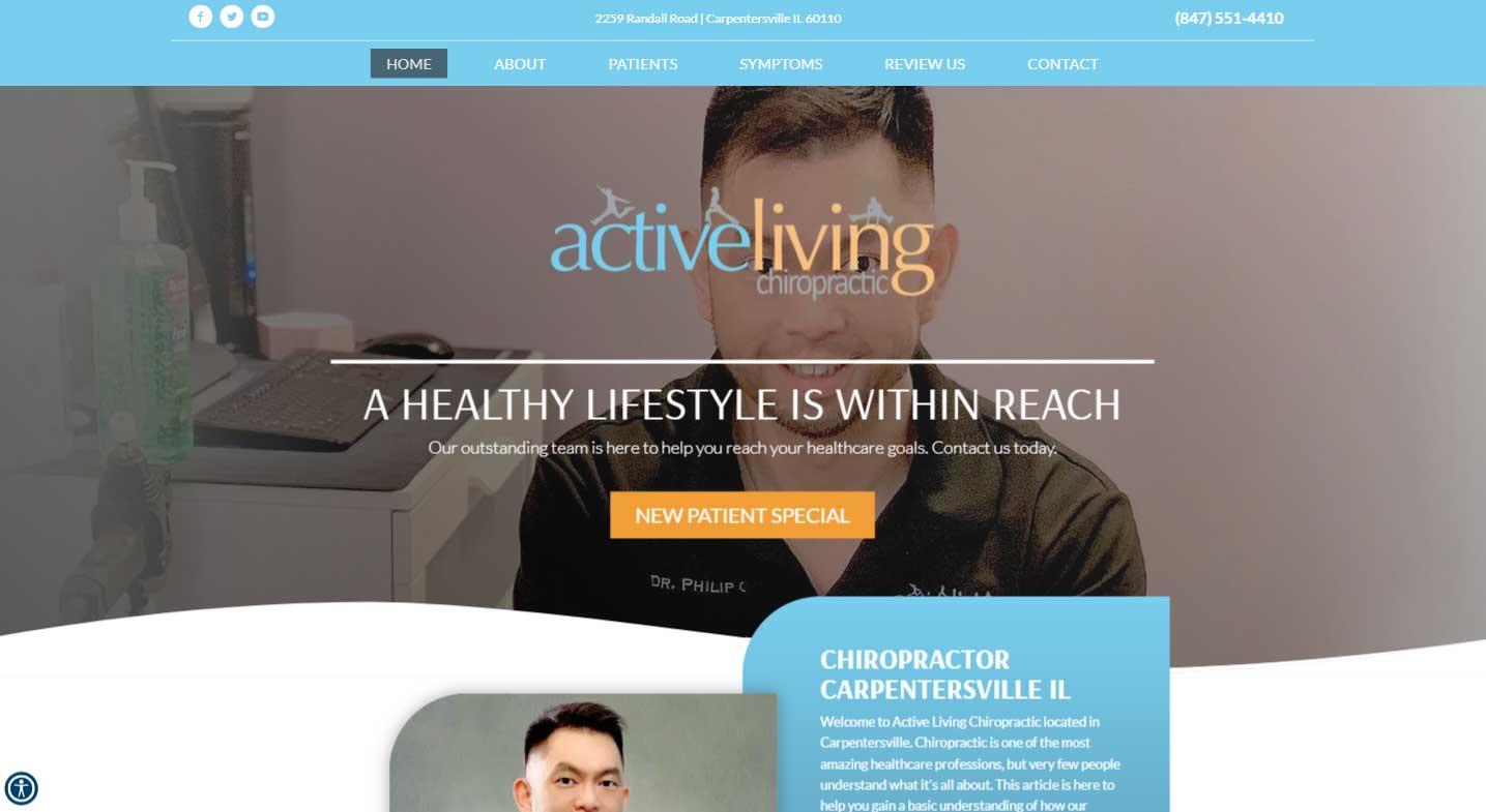 Chiropractor Carpentersville IL Active Living Chiropractic