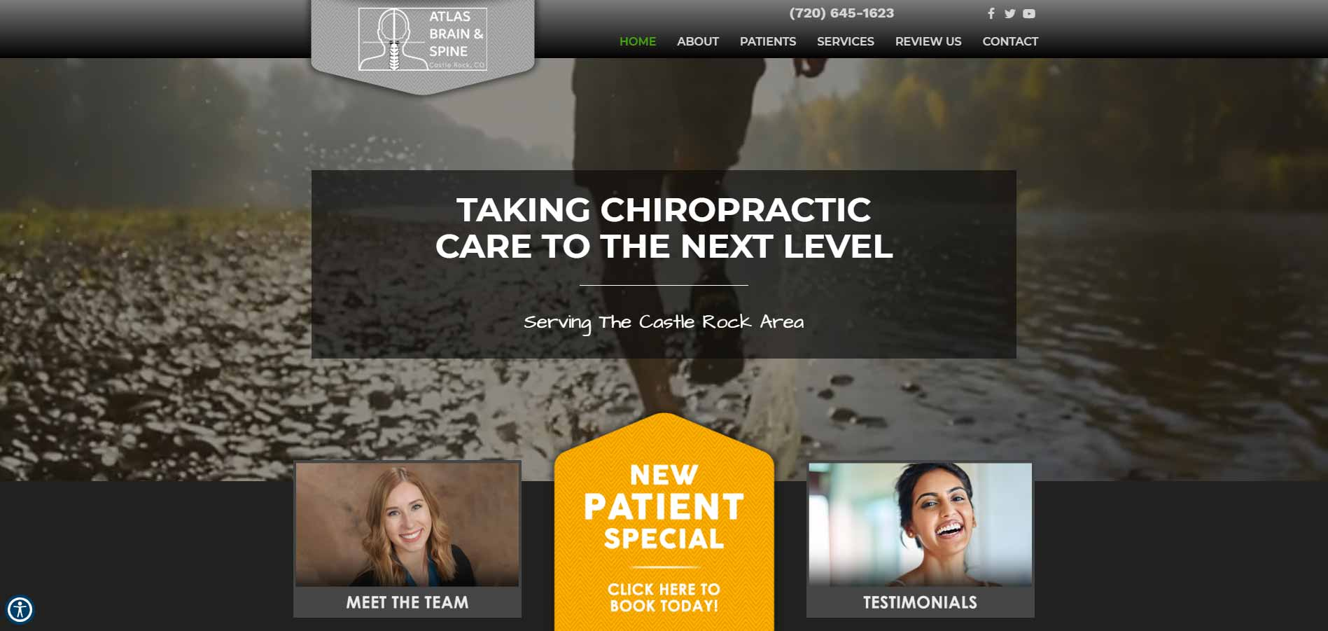 Chiropractor Castle Rock CO Atlas Brain & Spine