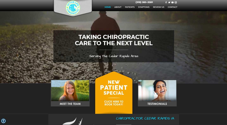 Chiropractor Cedar Rapids IA ActiveLife Chiropractic