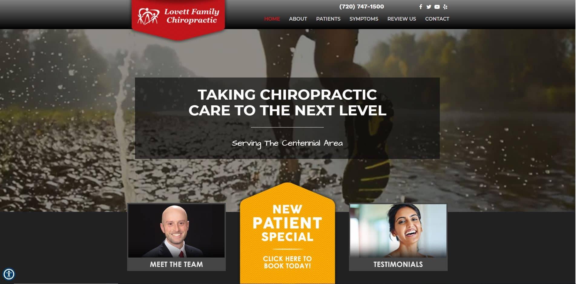 Chiropractor Centennial CO Lovett Family Chiropractic