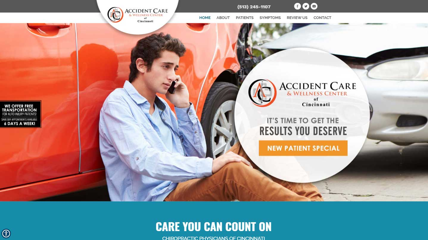 Chiropractor Cincinnati OH Accident Care and Wellness Center of Cincinnati
