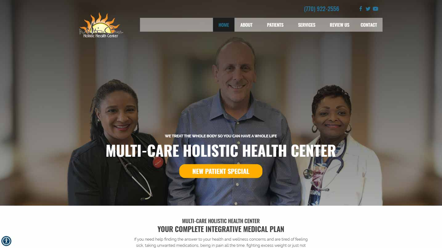 Chiropractor Conyers GA Multi-Care Holistic Health Center