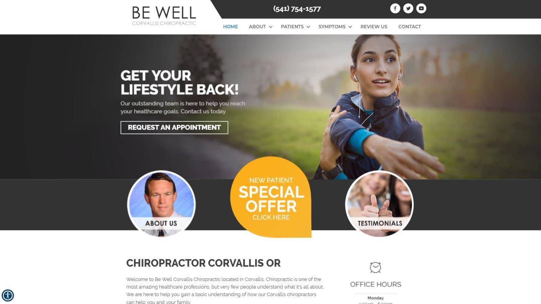 Chiropractor Corvallis OR Be Well Corvallis Chiropractic