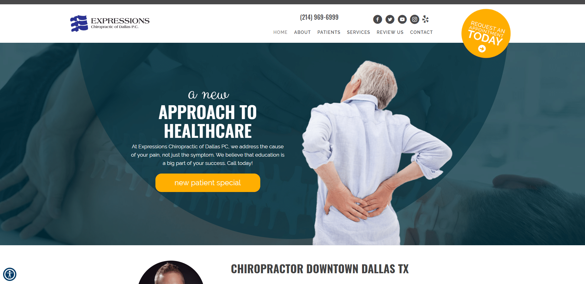Chiropractor Dallas TX Expressions Chiropractic of Dallas P.C.