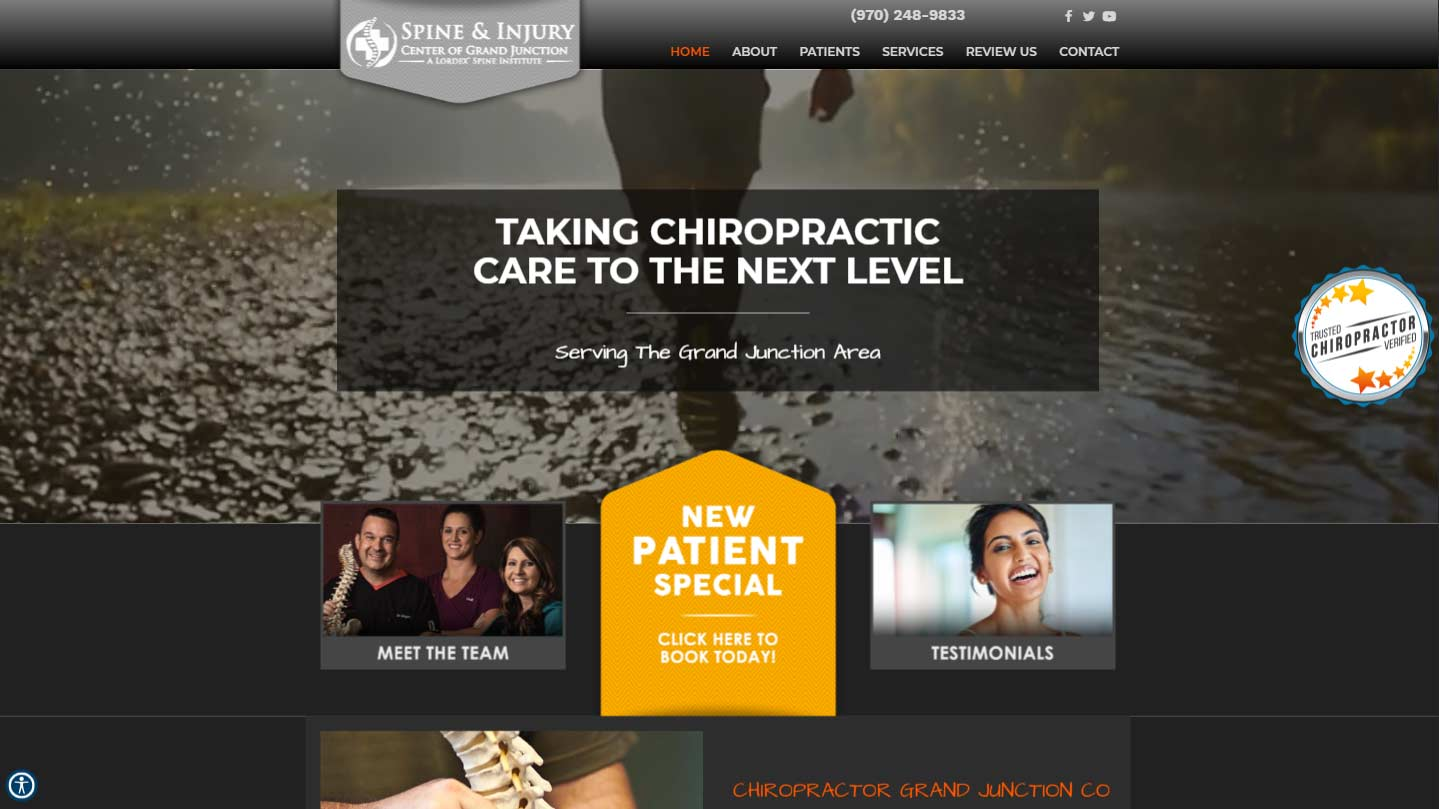 Chiropractor Grand Junction CO Spine & Injury Center of Grand Junction