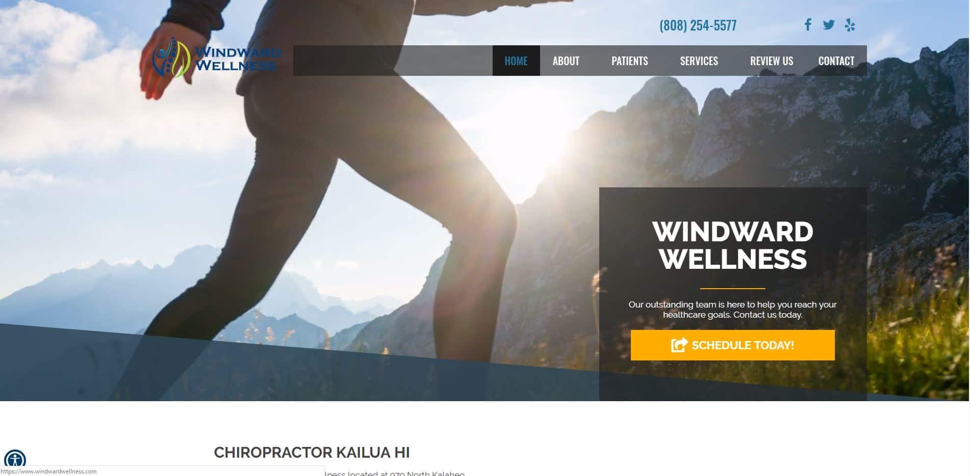 Chiropractor Kailua HI Windward Wellness